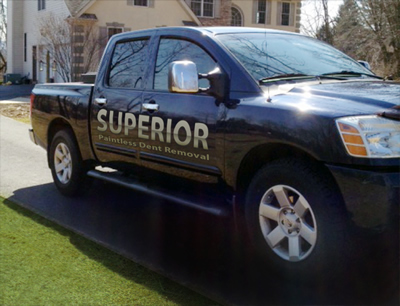 Superior Paintless Dent Removal Truck